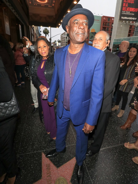 Glynn Turman Outside Pantages Theatre In Hollywood