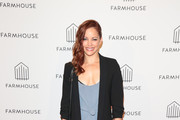 Amy Paffrath is seen attending Grand Opening of Farmhouse at The Beverly Center in Los Angeles, California.
