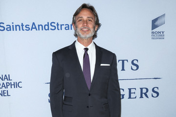 Grant Scharbo Celebrities Attend the Premiere of 'Saints and Strangers'