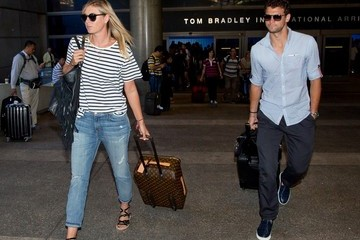 Grigor Dimitrov Maria Sharapova and Grigor Dimitrov at LAX