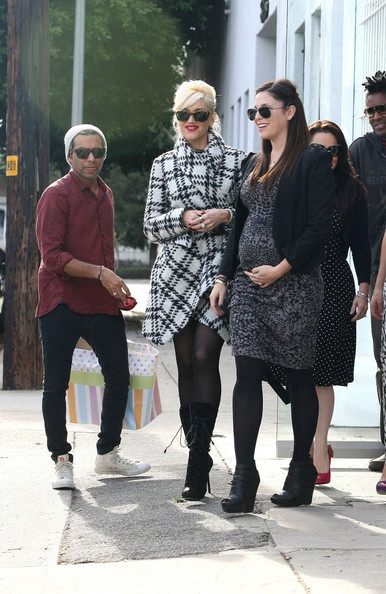 Gwen Stefani at a Baby Shower
