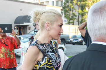 Gwen Stefani Gwen Stefani Arrives at Cake Mix