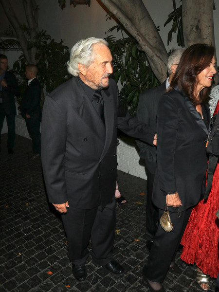 Hal Linden Outside Chateau Marmont Hotel in West Hollywood