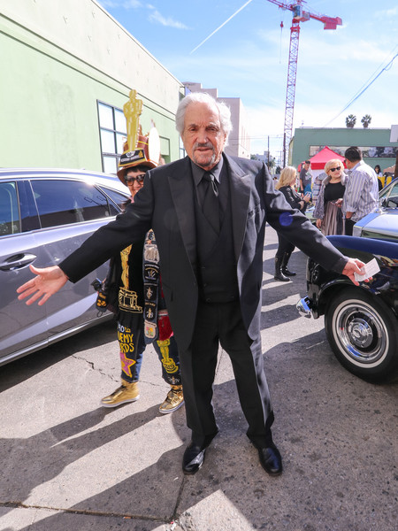 Hal Linden Sightings Outside Hollywood Museum