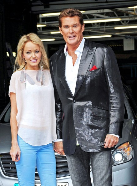 David Hasselhoff in a Very Shiny Jacket