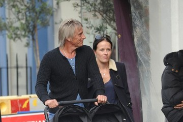 Hannah Andrews Paul Weller and Family Out and About