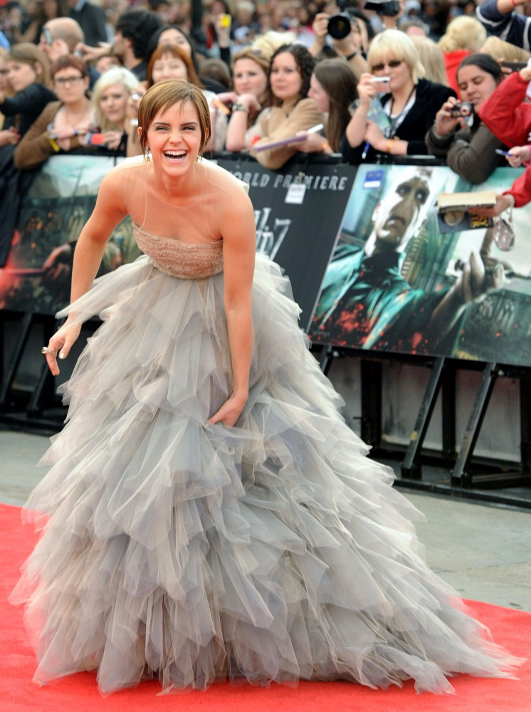 Emma Watson Harry Potter And The Deathly Hallows Part 2 Premiere Dress Emma Watson in ...