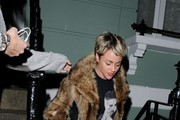 BYLINE: EROTEME.CO.UK.Harry Styles and Nick Grimshaw leave the Sony Brits 2013 After Show Party held at The Arts Club and continue the party at Nick Grimshaw's house in Primrose Hill till 6.30 a.m.  Actress Jamie Winstone also joined the festivities.