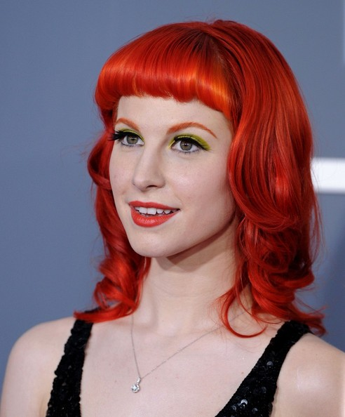 hayley williams haircut. hayley williams hairstyle
