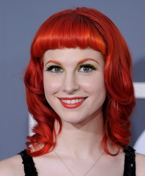 paramore hayley williams hairstyles. Hayley Williams)quot;
