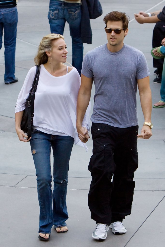 Haylie Duff and Nick Zano at the Arclight Theater 6 of 8 ...