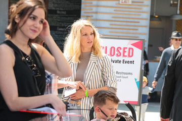 Heather Morris Heather Morris Is Seen Outside Santa Monica Place