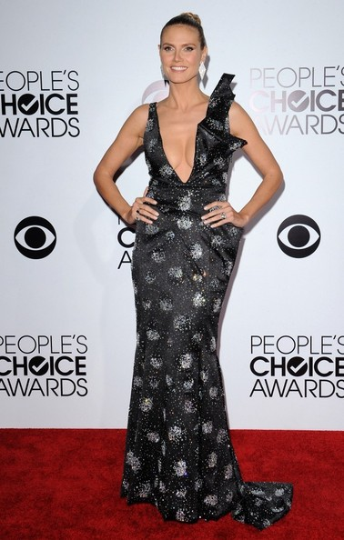 Heidi Klum - Arrivals at the People's Choice Awards