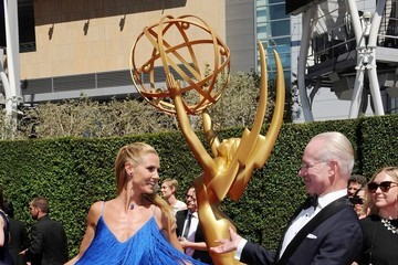 Heidi Klum Stars at the Creative Arts Emmy Awards