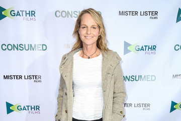 Helen Hunt Celebrities Attend the Premiere of 'Consumed'