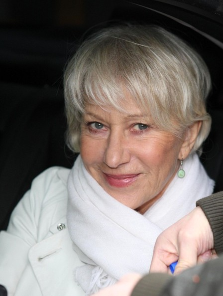 Helen Mirren Dame Helen Mirren at the London Studios.