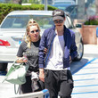 Hilary Duff Hilary Duff And Matthew Koma Seen In Los Angeles On July 12, 2019