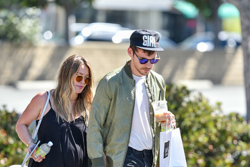 Hilary Duff Hilary Duff Steps Out With Her Boyfriend