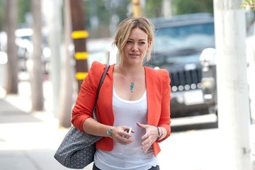 Hilary Duff Hilary Duff Leaves the Gym