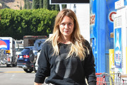 Hilary Duff Goes Out in L.A.