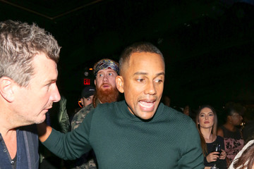 Hill Harper Hill Harper Outside Avalon Nightclub in Hollywood