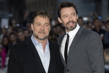 Hugh Jackman Red Carpet Arrivals at the 'Noah' Premiere — Part 2