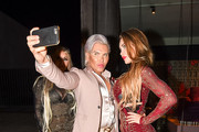 Human Ken Doll Rodrigo Alves and Others Are Seen Out in L.A.