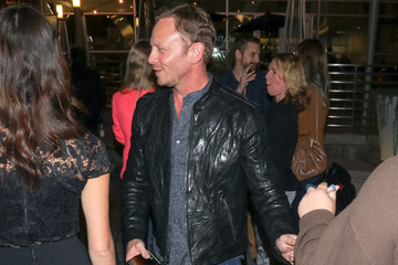 Ian Ziering Ian Ziering and Erin Kristine Ludwig Are Seen Outside ArcLight Theatre in Hollywood