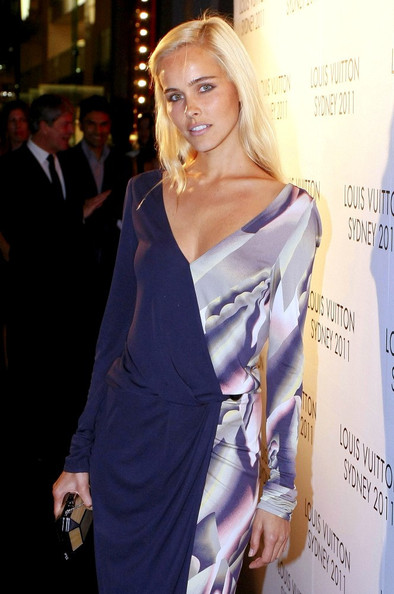 Isabel Lucas The Louis Vuitton Maison Reception celebrating the new opening George Street  boutique.