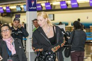 Iggy Azalea Spotted at JFK in New York City