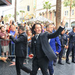 JC Chasez NSYNC Arrives At Dave & Busters For Their Hollywood Walk Of Fame After Party