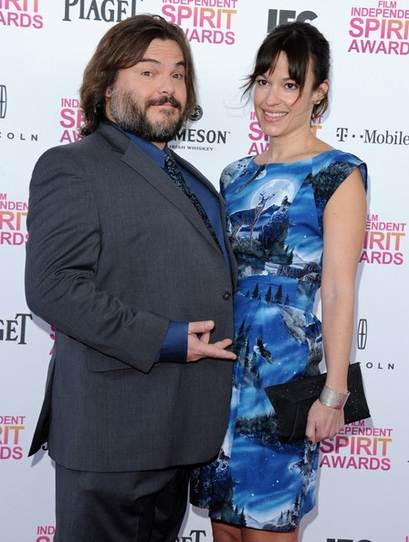 2013 Film Independent Spirit  Jack Black Wife 2013