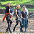 Jack Donnelly Malin Akerman Goes On A Hike In L.A.