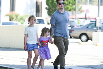 Jack Osbourne Jack Osbourne Out And About With The Kids