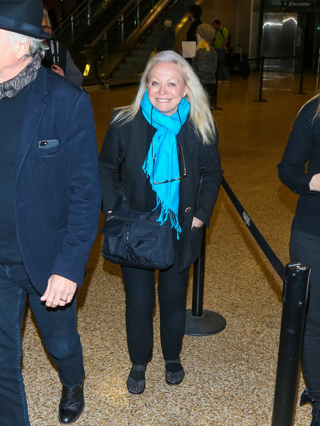 Celebrities Are Seen at Salt Lake City Airport