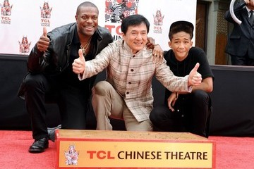 Jackie Chan Jaden Smith Jackie Chan's Hand and Footprint Ceremony — Part 2