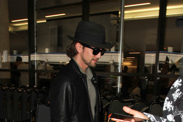 Jackson Rathbone Jackson Rathbone Departs from LAX