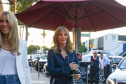 Jaclyn Smith is seen out in Los Angeles, California on July 28, 2018.