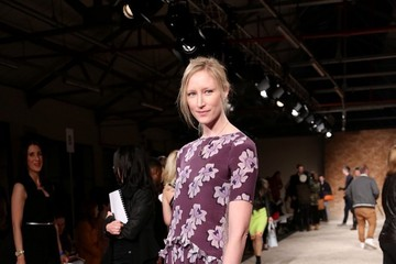 Jade Parfitt Celebs at the Henry Holland Show at London Fashion Week