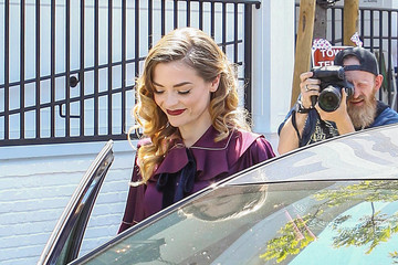 Jaime King Jaime King Channels Classic Hollywood at Au Fudge