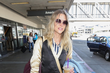 Jaime King Jaime King at LAX