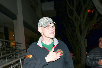 James Carville James Carville outside Madeo Restaurant