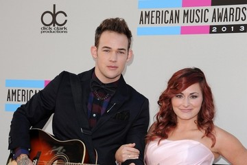 James Durbin Arrivals at the American Music Awards