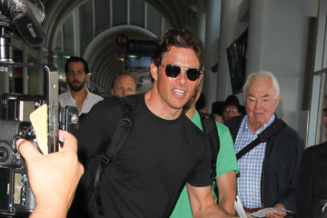 James Marsden James Marsden Is Seen at LAX