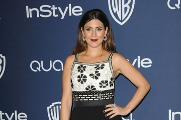 Jamie-Lynn Sigler Arrivals at the InStyle/Warner Bros. Golden Globes Party