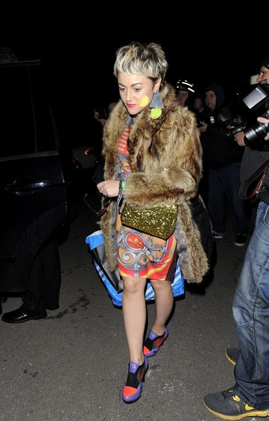 Celebs Out for the Brit Awards