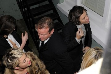 Jamie Winstone Celebs Out for the Brit Awards