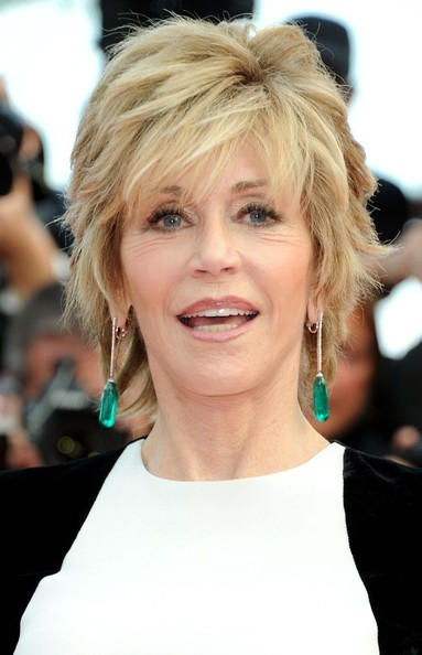 Jane Fonda 'Rust and Bone' premieres at the 65th Annual Cannes Film Festival.