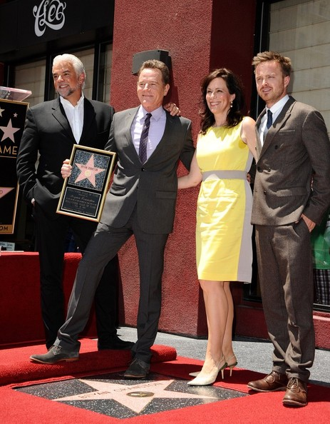 Bryan Cranston Honored on the Jane Kaczmarek Bryan Cranston