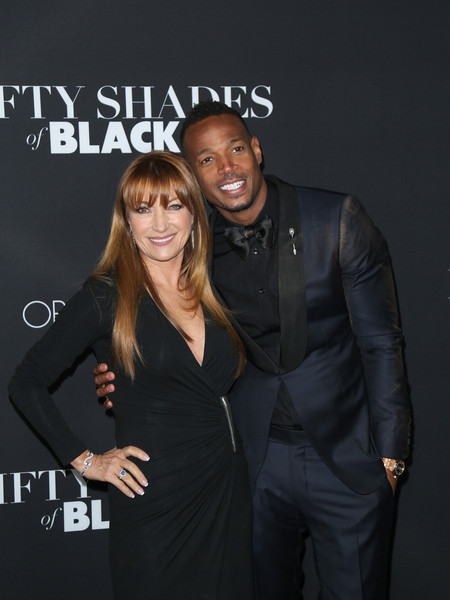 Celebrities Attend the 'Fifty Shades of Black Premiere'